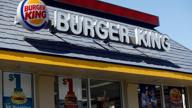 Un restaurante de Burger King.