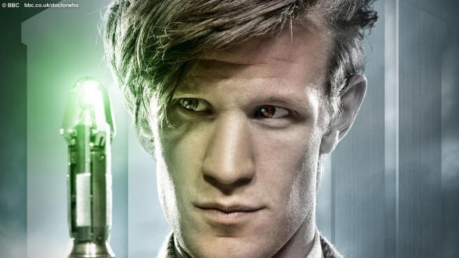 Matt Smith, protagonista de la serie televisiva <em>Doctor Who.</em>